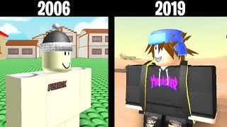 EVOLUTION of ROBLOX 2006-2019!!