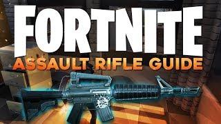 Fortnite In Depth: M4 Assault Rifle Guide
