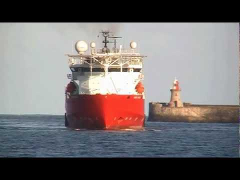 Seven Navica Inbound to the Port of Tyne - 9th October 2012