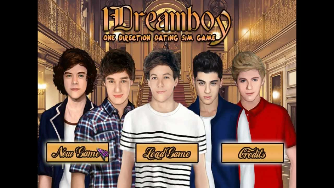 One direction dating online games
