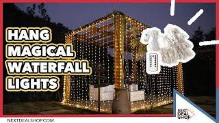 Hang Magical Waterfall Lights! - Lighting Decor Idea - NextDealShop