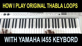 12 THABLA PATERNS IN ANY USB KEYBOARD WITH MAINSTAGE / MY MUSIC MASTER