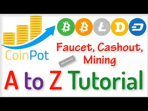 CoinPot full Tutorial 2019 - Coinpot co Faucets List, Withdrawal