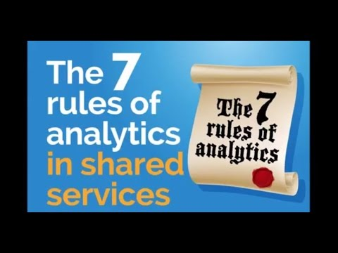 The 7 Rules of Analytics in Shared Services