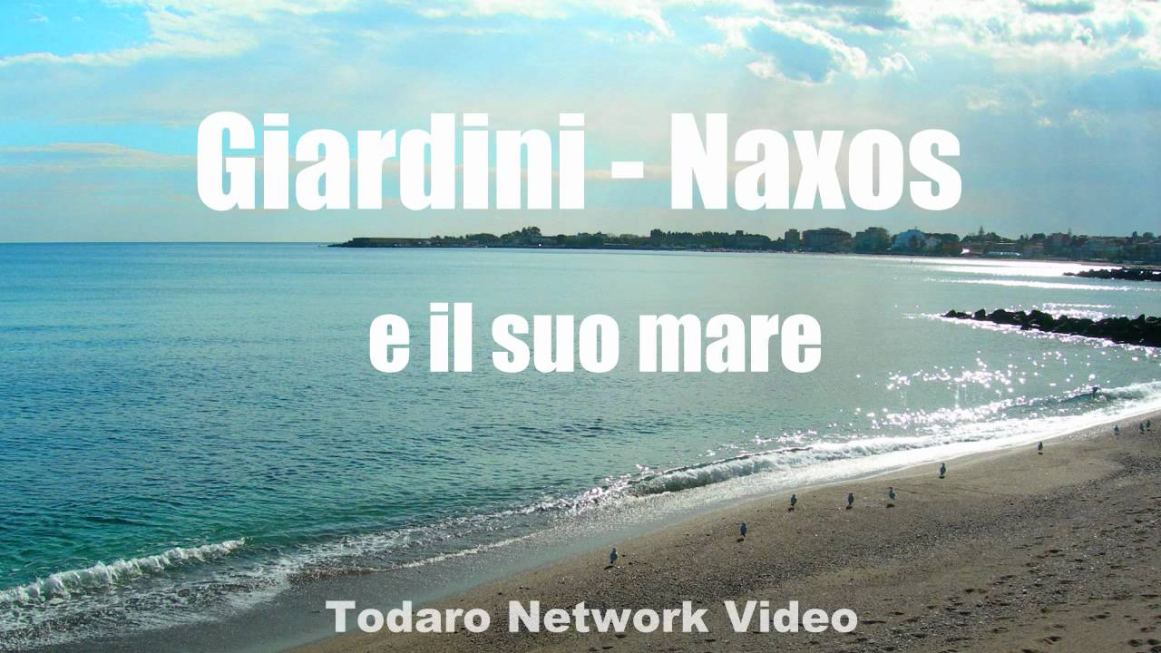 Giardini naxos ed il suo mare sicilia youtube