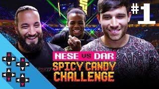 UFC 2: TONY NESE vs. NOAM DAR - Spicy Candy Challenge Round 1! - Gamer Gauntlet