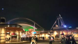 Amazing Roller Coaster Lighting - Universal Studios Japan, Osaka