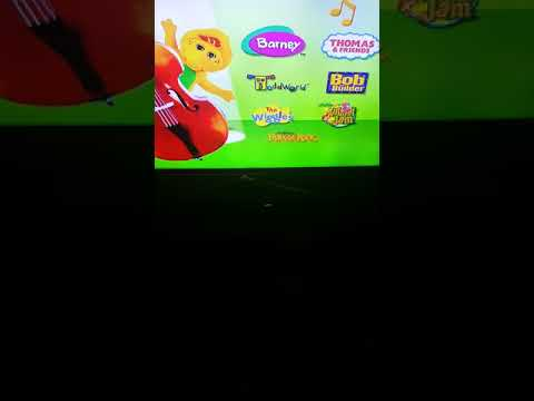 Main menu walkthrough Barney songs DVD