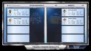 NBA 2K14 My Gm - Trade Options
