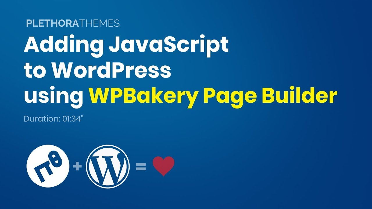 How to add JavaScript or jQuery to WordPress Tutorial