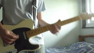 Bloc Party - Helicopter (Lead guitar part)