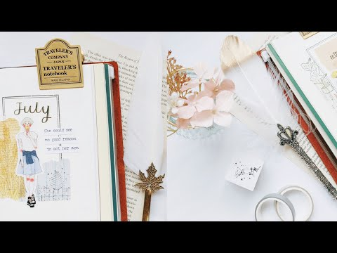 ASMR JOURNAL WITH ME 2021 | Starting a new vintage journal