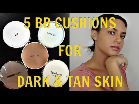5 BB Cushions For Dark & Tan Skin | Innisfree & More! | Beauty Review