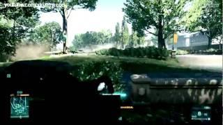 Battlefield 3 Multiplayer gameplay sniper alpha version
