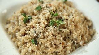 How To Make Mushroom Risotto | Italian Recipe | Perfect Mushroom Risotto | Recipe by Varun Inamdar