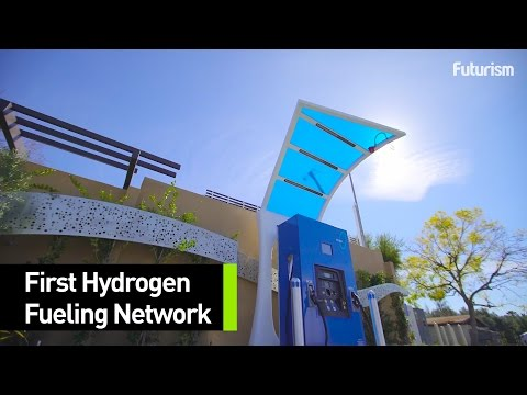 Hydrogen Gas Stations Are Coming To A City Near You
