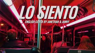 SUPER JUNIOR - Lo Siento (ft. Leslie Grace/KARD)   English Cover by Janethan & JANNY