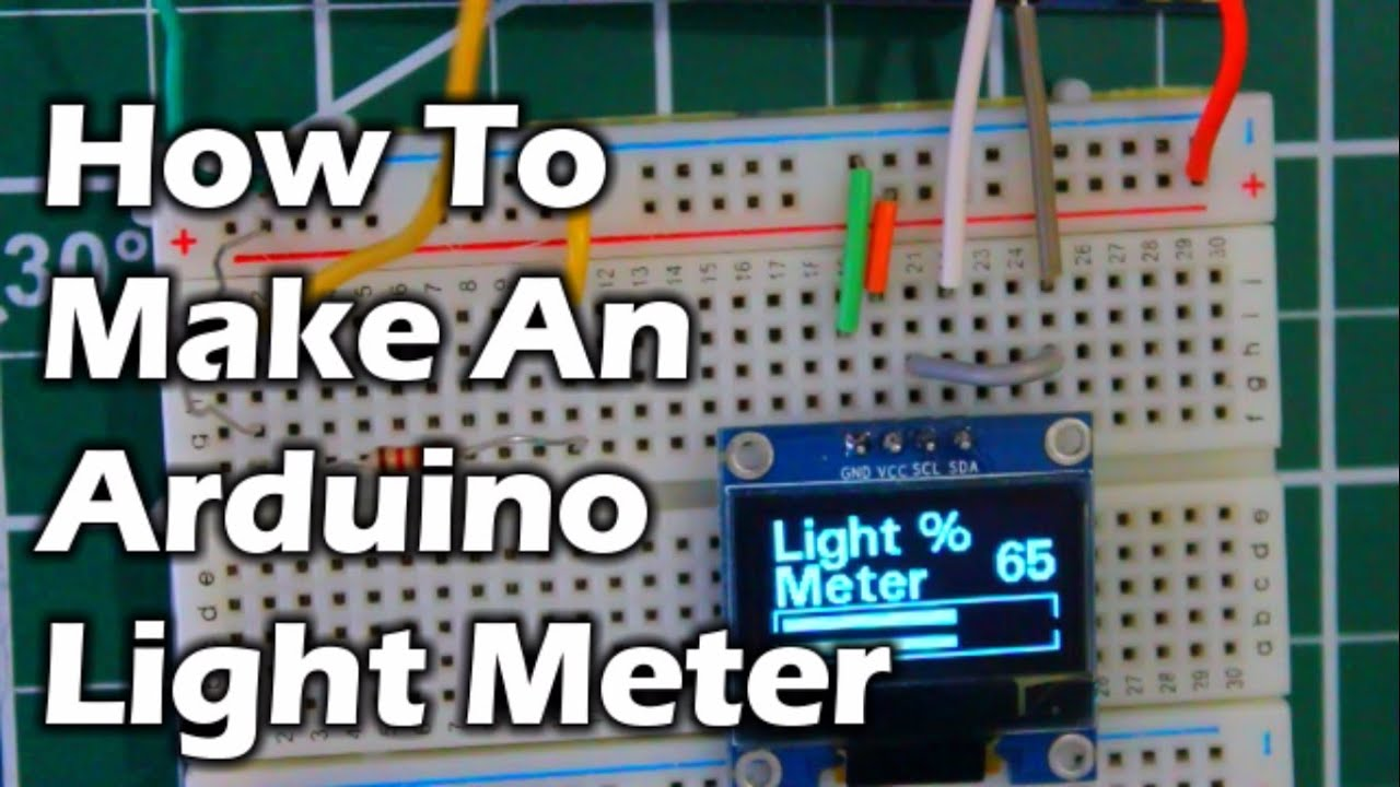How to make an arduino light meter youtube