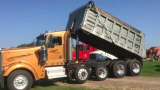 2008 Kenworth W900 Quad Axle Dump Truck For Sale by Online Auction