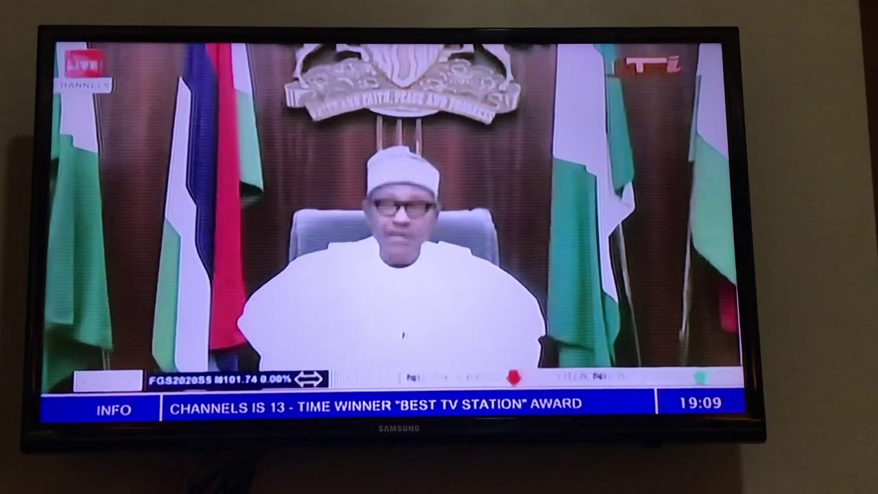 BREAKING NEWS: PRESIDENT BUHARI FINALLY ADDRESSES NIGERIANS ABOUT THE #ENDSARS PROTEST