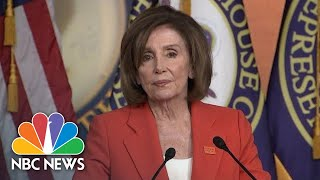 Nancy Pelosi On Impeachment Process: 'We Know Exactly What Path We're On' | NBC News