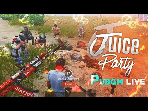 JUICE PARTY IN END CIRLCE PUBG MOBILE HIGHLIGHTS LOL GAMEPLAYS