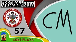 Football Manager 2019 - Episode 57 - NEW CM!- The Stanley Parable - FM19