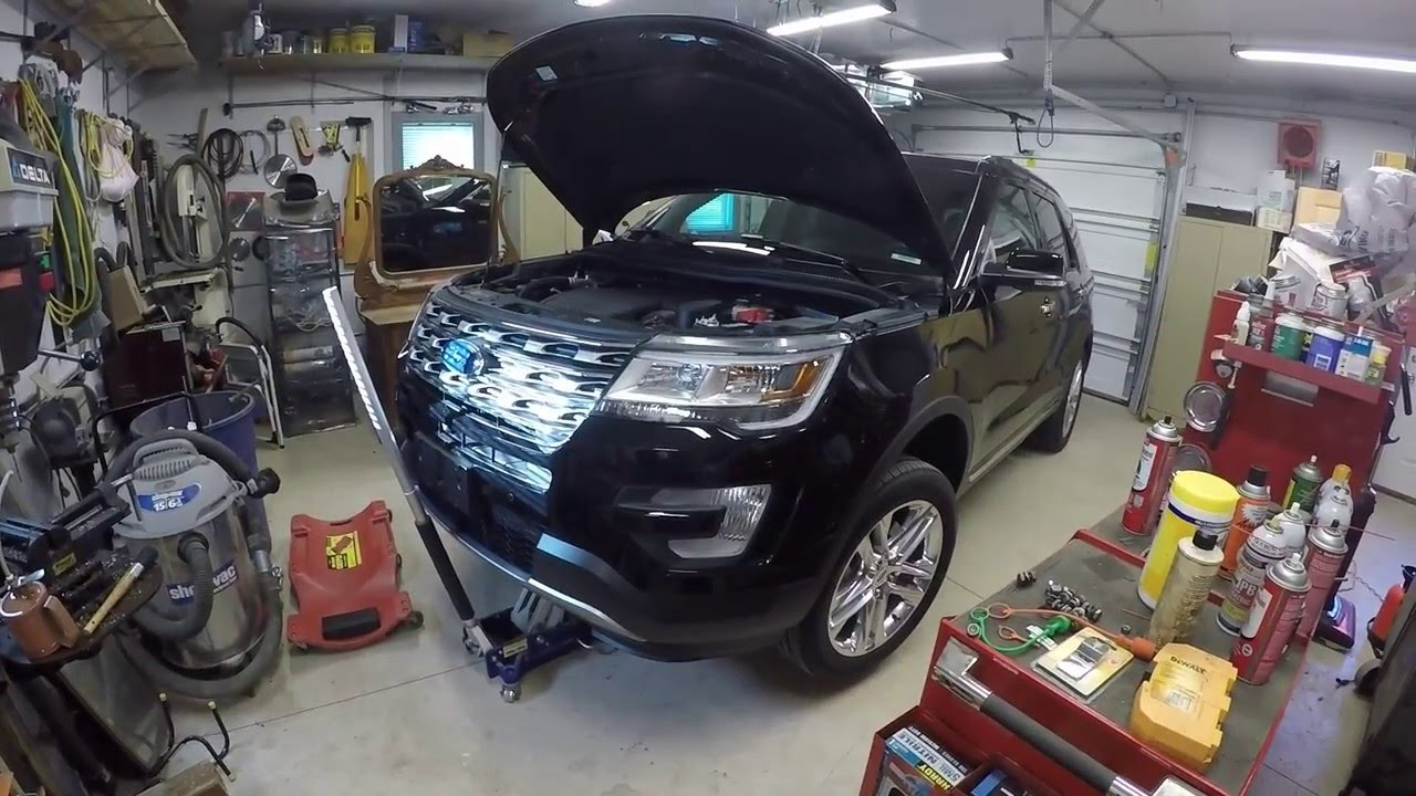 How To Change Oil In A 2016 Ford Explorer