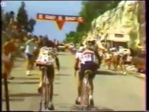 Lucho herrera narracion colombiana caracol radio Tour de Francia 10 de julio 1985 Etapa12