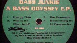 Bass Junkie Who is it What is it