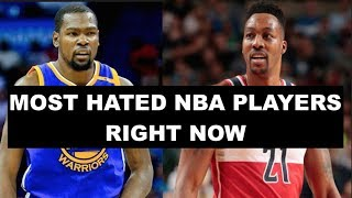 10 Most Hated NBA Players Today