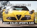 Alfa Romeo 4C Named Best Value Luxury Sports Car 2017