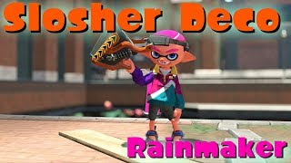 [Splatoon 2] My first impression of Slosher Deco