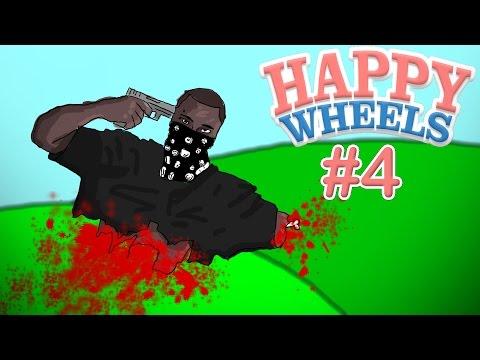 ОПАСНЫЕ РАЙОНЫ - Happy Wheels #4