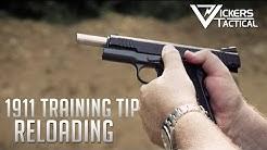 Wilson Combat 1911 Training Tip:  Reloading