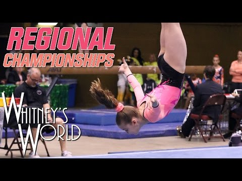 Whitney Bjerken | Level 8 Regional Championships | All Around Champion