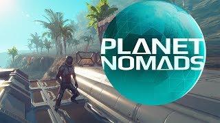 Planet Nomads - Futuristic scifi Sandbox survival game  - Planet nomads 0.8.6.0 Update Gameplay