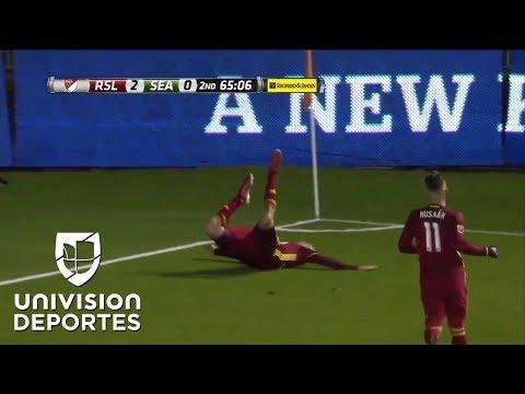 El aterrizaje forzoso de Luke Mulholland del Real Salt Lake | MLS
