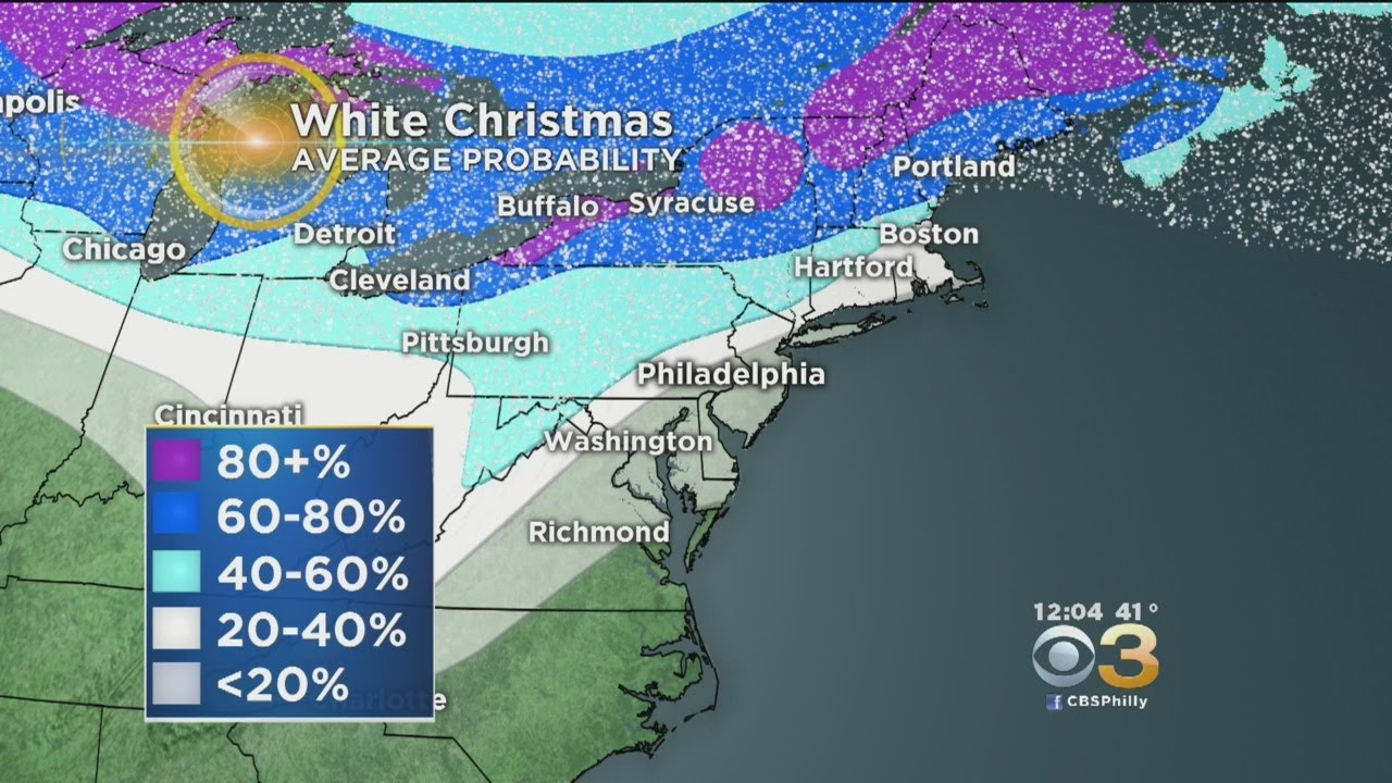 White Christmas Forecast.Holiday Forecast Will There Be A White Christmas This Year