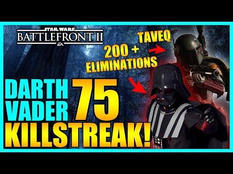 200 Eliminations Game with 75 Darth Vader Gameplay/Killstreak