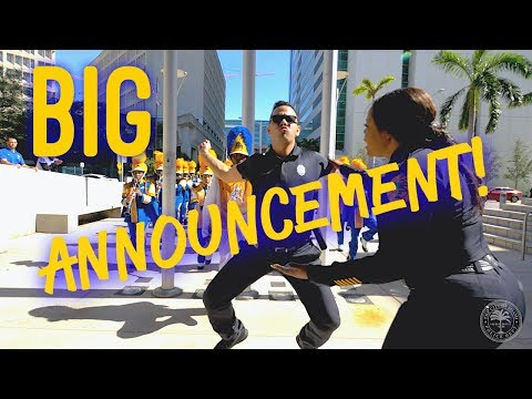 Miami Police BIG ANNOUNCEMENT!