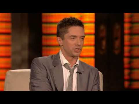Lopez Tonight  Topher Grace   Getting High & Ashton Kutcher