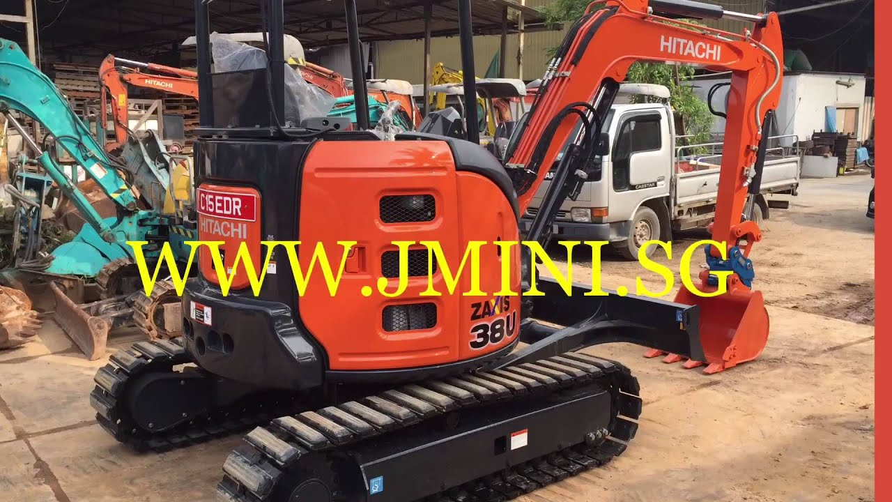 Brand New Hitachi ZX33U-5A ZX38U-5A ZX55U-5A For Rental For Sale in  Singapore  Export Used Excavator