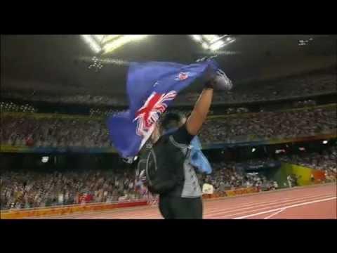 Valerie Adams wins Shotput Gold, Beijing 2008