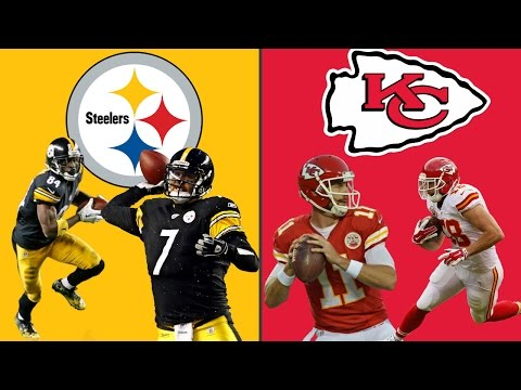 PITTSBURGH STEELERS VS KANSAS CITY CHIEFS PLAYOFF SIMULATION!! LOOK AT HIM GO!! (HIGHLIGHTS)