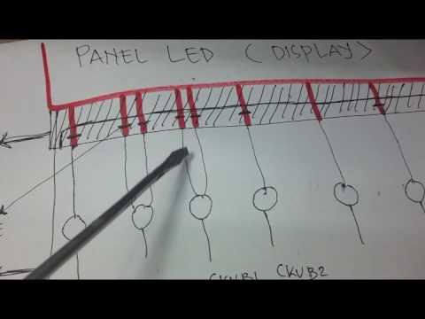 اصلاح بانل سامسونج كوف واحد Repair Samsung Pannel Youtube