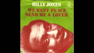 we want peace Billy Jones