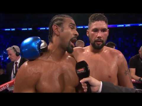 David Haye v Tony Bellew POST FIGHT INTERVIEW