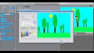 как создать спрайт (объект) в программе Scratch - видео урок №2