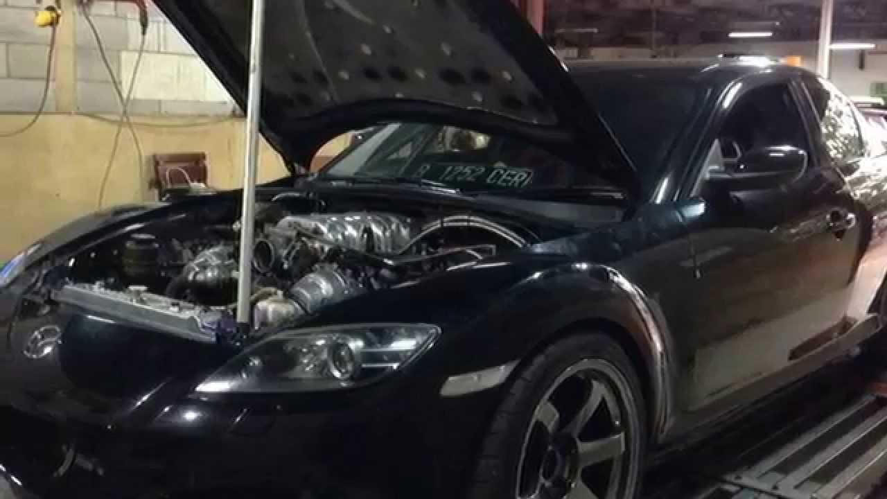 Dyno Tuning Haltech Ps1000 Mazda Rx8 1uz Vvti Engine